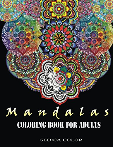 Mandala Coloring Book for Adults: Mandala coloring book + BONUS Track 60 free mandalas coloring pages (PDF)