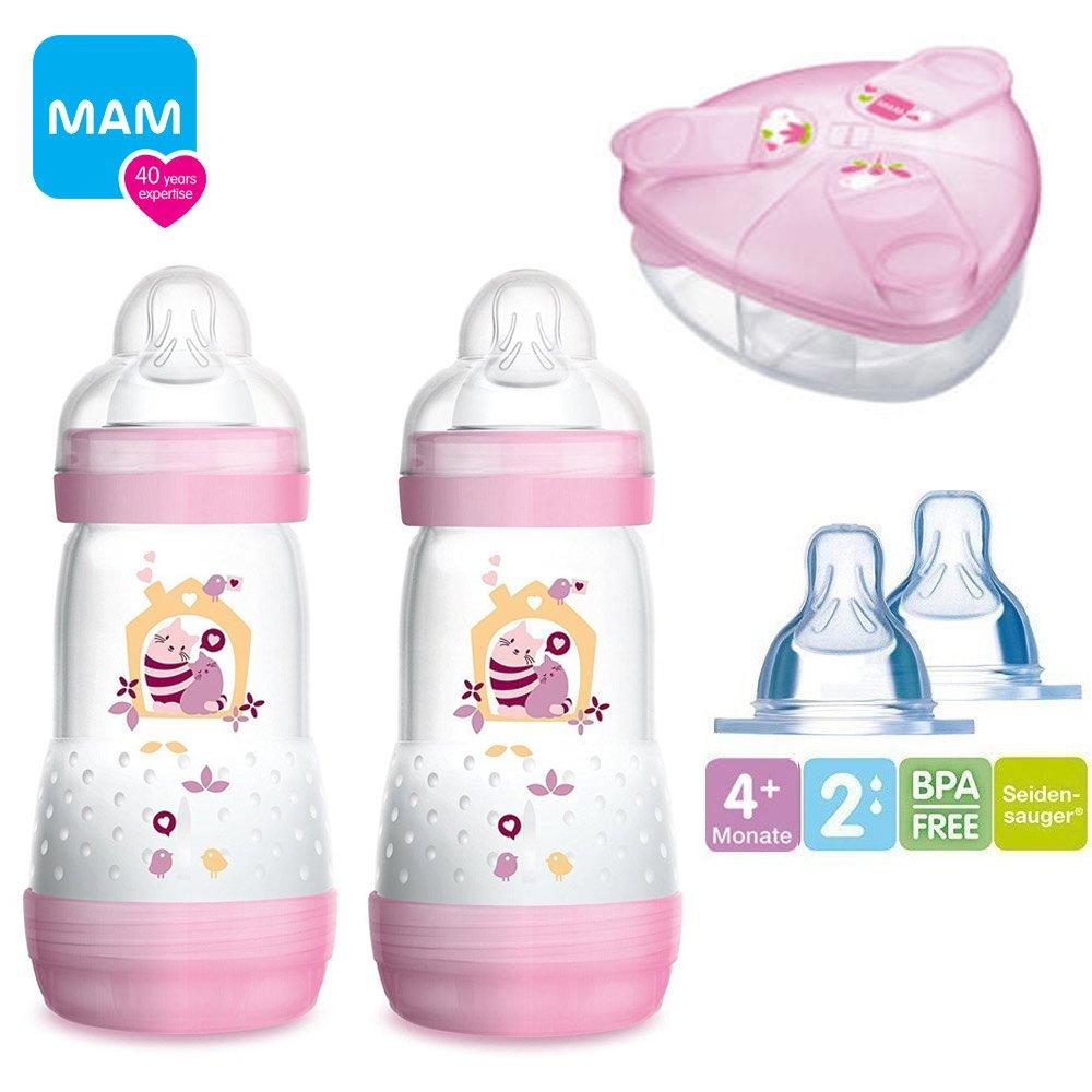 MAM Set III Anti Colic Starter Kit avec Anti Colique bouteilles//MAM anti colik Bouteille 260 Ml//