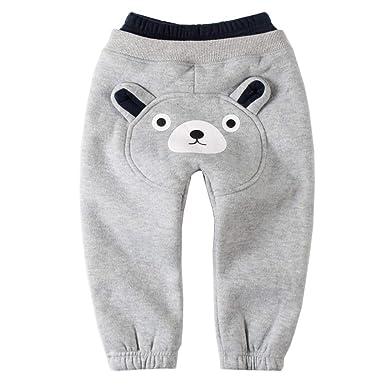 Sweatpants Polar Bear Funny Fashion Pattern Cotton Toddler Active Jogger Full-Length Regular Size Pants Kids
