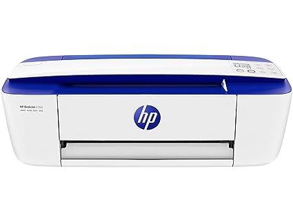HP DeskJet 3760 - Impresora de tinta multifunción (8 ppm, 4800 x 1200 DPI, A4, Wifi, Escanea, Copia, 60 hojas, Modo silencioso, 1 año de Instant Ink ...