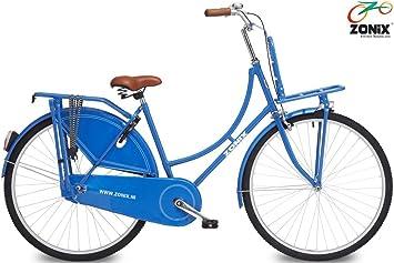 Holland Damenrad Zonix 28 Zoll Blau Amazon De Sport Freizeit