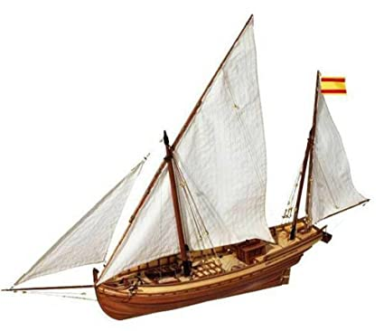 Amazon.com: San Juan Felucca – Kit modelo Ship by OcCre ...
