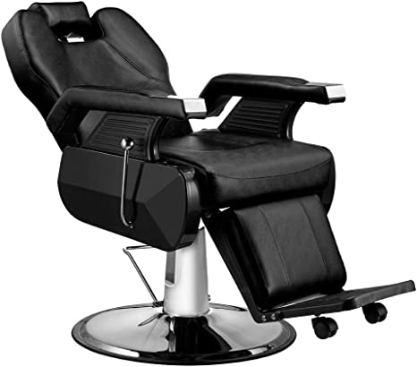 Binspostar Classic Deluxe Salon Chair Heavy Duty Hydraulic Reclining Barber Chair Beauty Salon Spa Massage Chairs Professional Swivel Hair Styling Chair Seat Shampoo Chairs For Barber Tattoo Shop Amazon Ca Home Kitchen