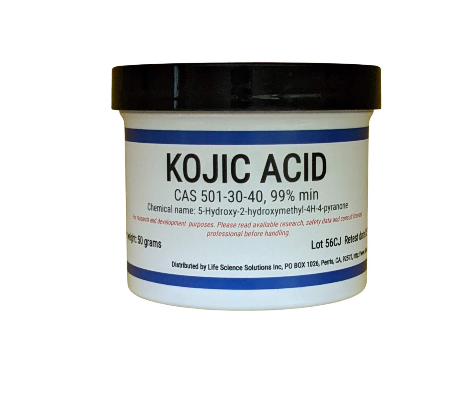 Kojic Acid Powder, 50 Grams