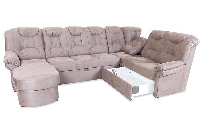 Sofa Matex Wohnlandschaft Linus Mit Relax Und Schlaffunktion