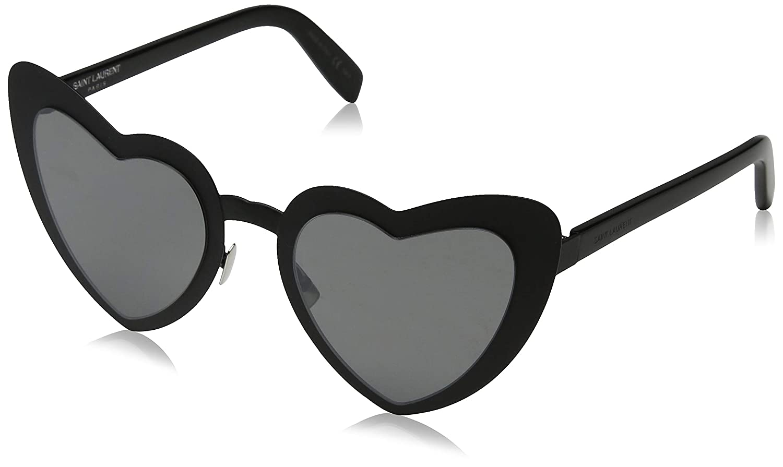 670ebf439df Saint Laurent LOULOU SL 196 BLACK GREY 55 23 145 women Sunglasses at Amazon  Men s Clothing store