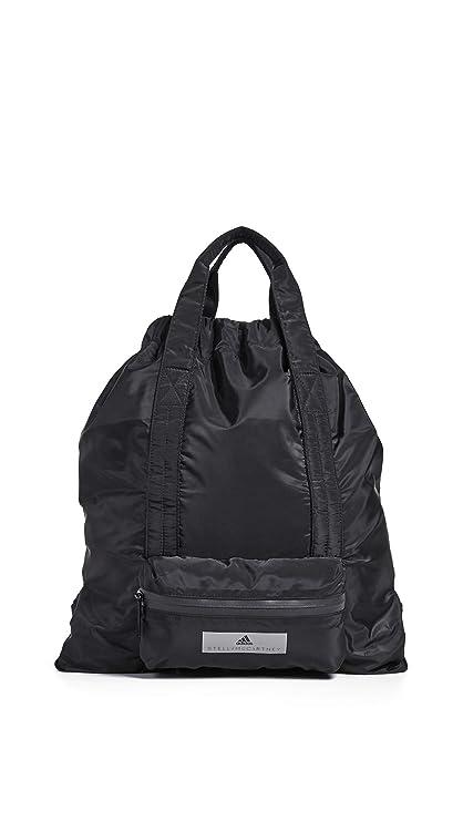reputable site a043b dc32e Amazon.com   adidas by Stella McCartney Women s Gymsack, Black Black, One  Size   Casual Daypacks