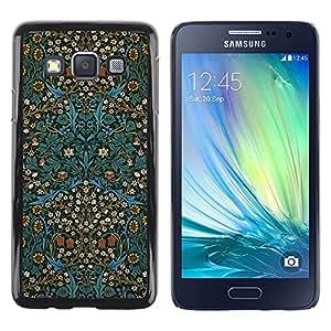 Be Good Phone Accessory // Dura Cáscara cubierta Protectora Caso Carcasa Funda de Protección para Samsung Galaxy A3 SM-A300 // Culture Oriental Carpet Wallpaper