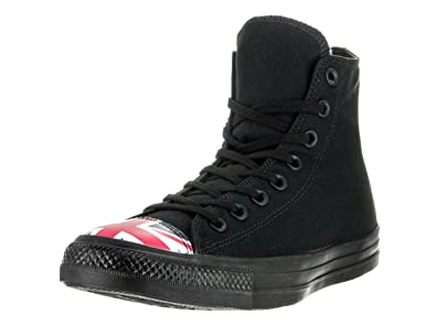 e22b8364837 Image Unavailable. Image not available for. Color  Converse Unisex Chuck  Taylor All Star Hi Black Navy R Basketball Shoe ...
