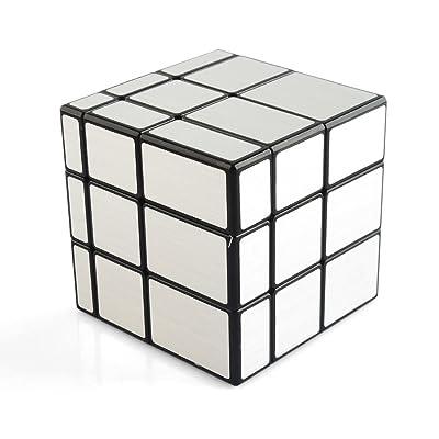 SOKOYO Mirror Blocks Cadre argenté brillant Puzzle Cube magique Casse-tête
