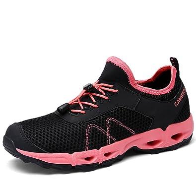 Womens Water Shoe Mesh Quick-dry Amphibian Footwear Lightweight Acqua Walking Shoe