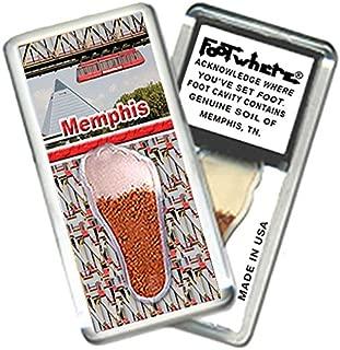 "product image for Memphis ""FootWhere"" Souvenir Magnet (MP204 - M.I. Tram)"