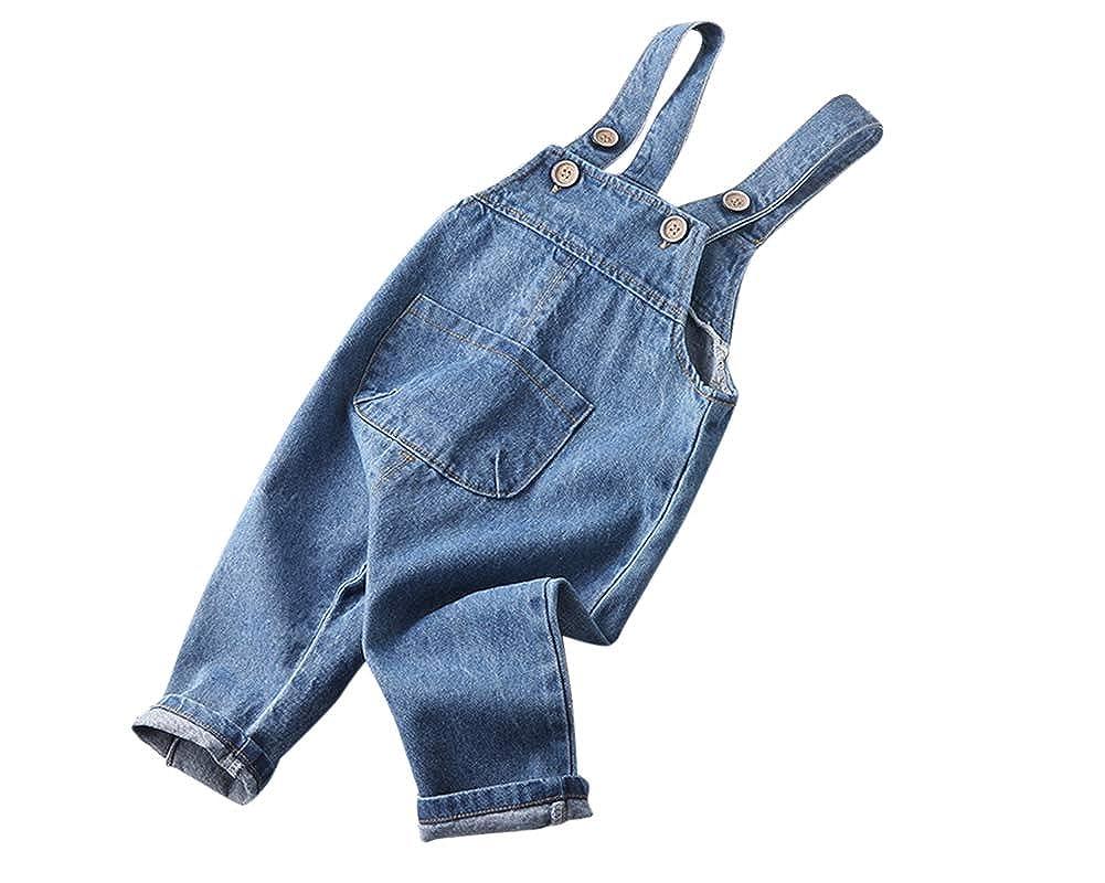 10 Anni Grandwish Salopette Jeans Bambino Ragazzo 3 Anni