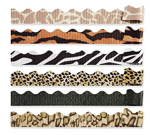 Bordette 0037940 Decorative Border, 6 Assorted Designs