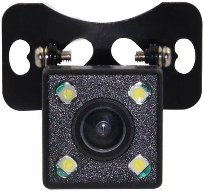 Black Quaanti 170 Degrees CMOS Car Rear View Reverse Backup Parking HD Camera Night Vision Waterproof Support PAL Video System