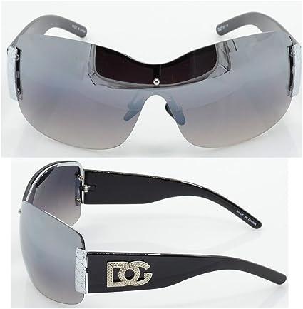 NEW Black For Womens Fashion Design Shades Eyewear Oversized DG Sunglasses 857