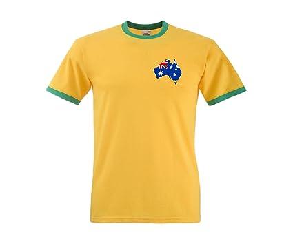 Camiseta Australia Australian Cricket / F?tbol T-Shirt Tee - Todas Tallas