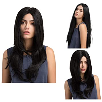 Long Layers Hair Straight 90