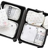 Belsmi 8 Set Packing Cubes - Waterproof Compression