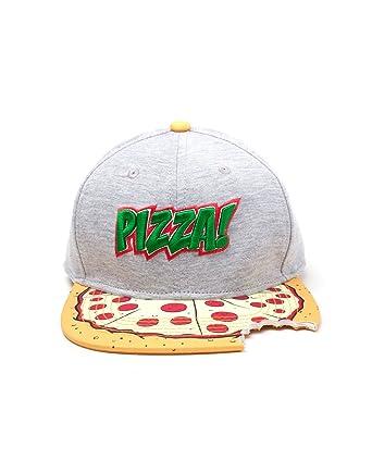 121f6e9c7f5 Meroncourt Teenage Mutant Ninja Turtles (TMNT) Pizza Bite Snapback Baseball  Cap
