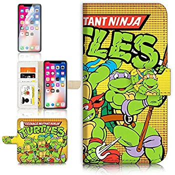 Amazon.com: (para iPhone X) Flip Wallet Case Cover & ...