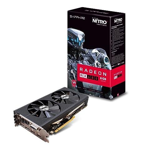 Sapphire 11260-07-20G - Tarjeta gráfica (AMD, Radeon RX 480, 3840 ...