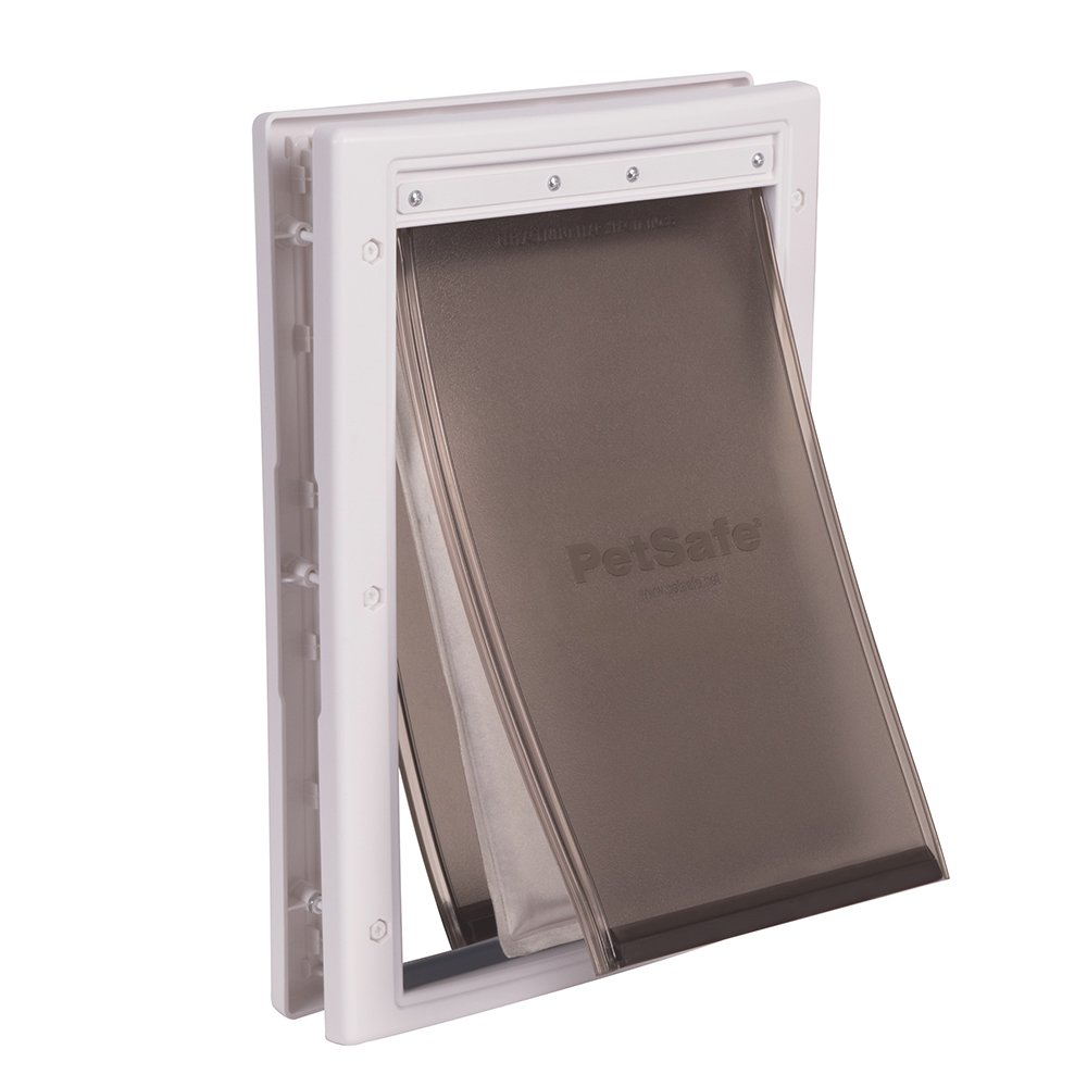 PetSafe Extreme Weather Pet Door, Energy Efficient Pet Door for Dogs and Cats, Medium, for Pets Up to 40 Lb.