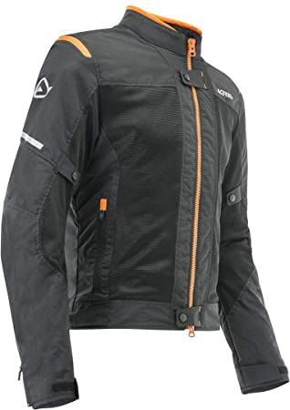 chaquetas ramsey My Vented 2.0 Color NegroNaranja L: Amazon