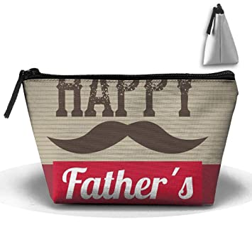 d0393de9cc2f Amazon.com: Travel Cosmetic Bags Happy Father's Day Small Makeup Bag ...