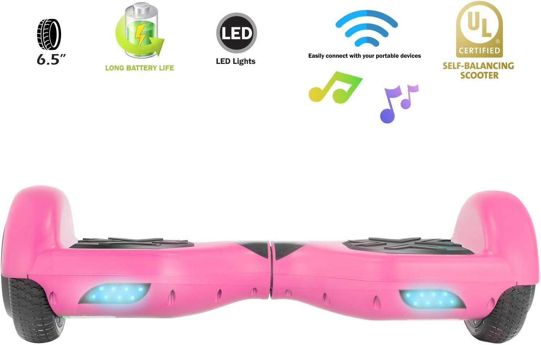 XPRIT Hoverboard w/Bluetooth Speaker Pink - 4