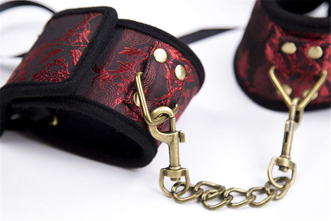 WAVENI Patrón atadas de Juguete agrupado para Adultos, ataduras de Tobillo atadas Patrón a Mano Juguetes (Size : Handcuffs) 0a6d25