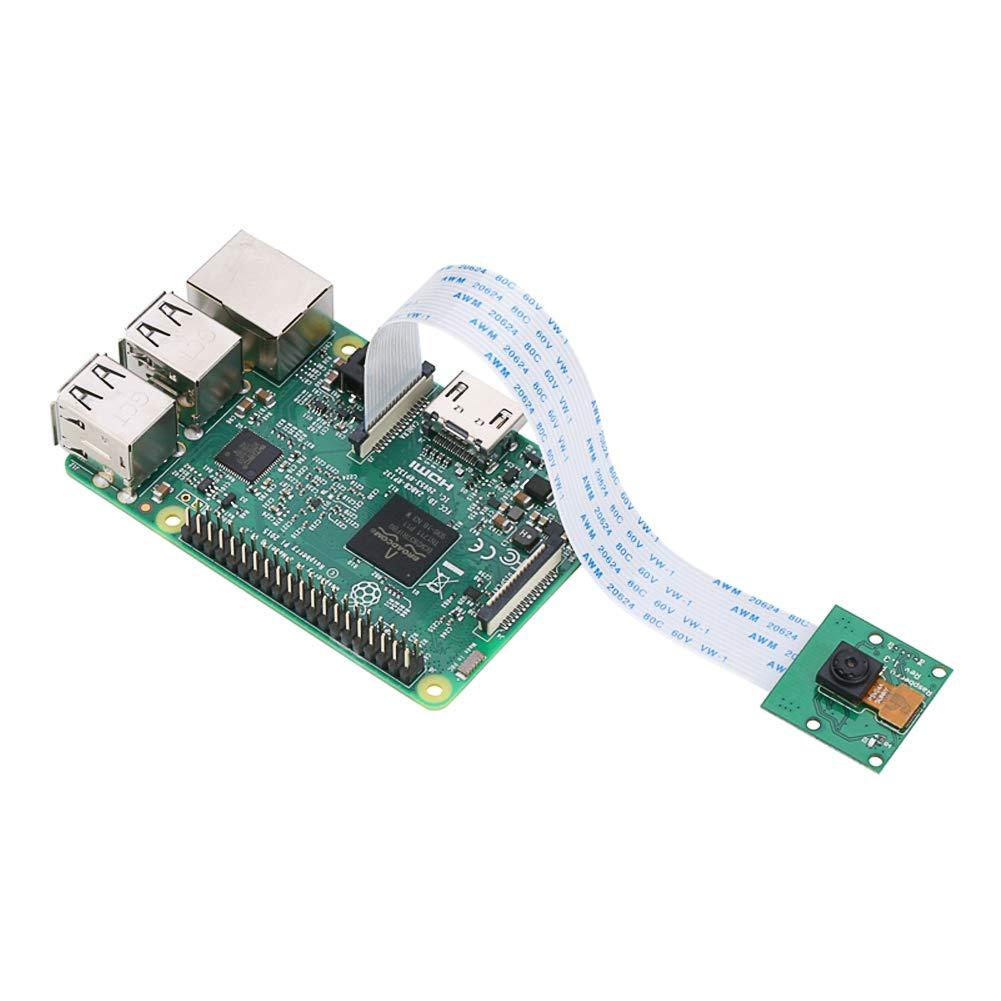 HONG111 Camera Module Board, 5 Megapixels, CSI Interface, Mini Camera Video Module with 15cm Soft Cable for Raspberry