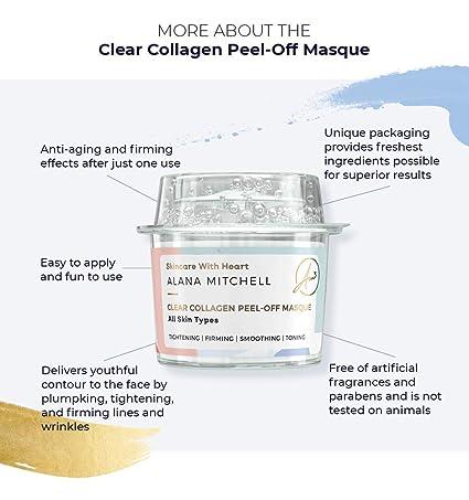 Amazon.com: Máscara facial de colágeno antiedad para todos ...