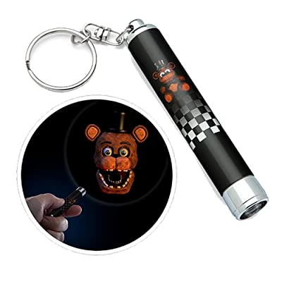 ThinkGeek Five Nights at Freddy's Mini Frightlight Projector Keychains Blind Bag: Toys & Games