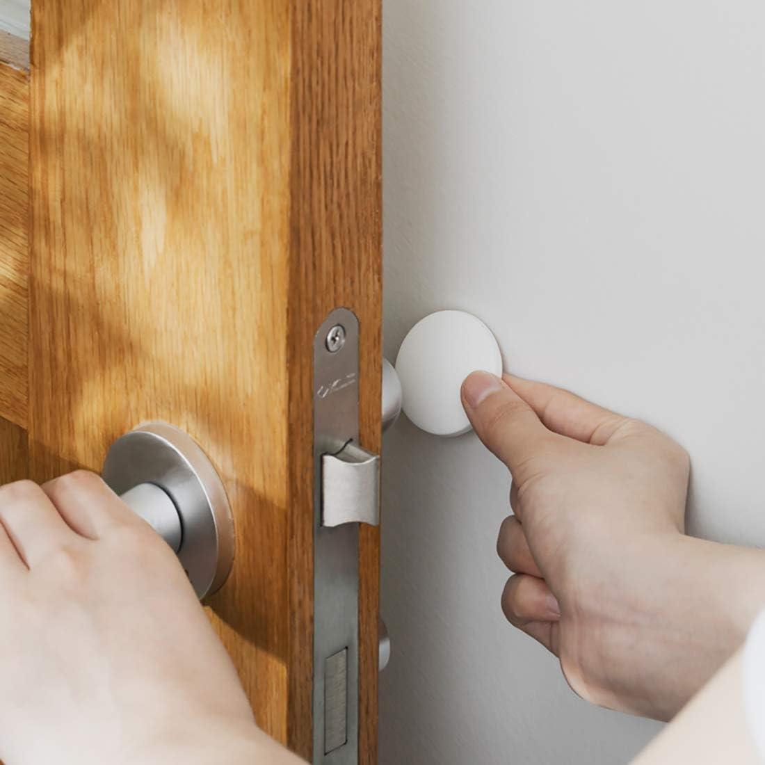 Cabinets etc. Silicone Wall Protector Door Stopper Wall Protector Door Knob Guard Refrigerator Door Wall Protectors with Self Adhesive for Protecting Wall Doorknobs 32 Pcs 1.57 Inch Door Bumper