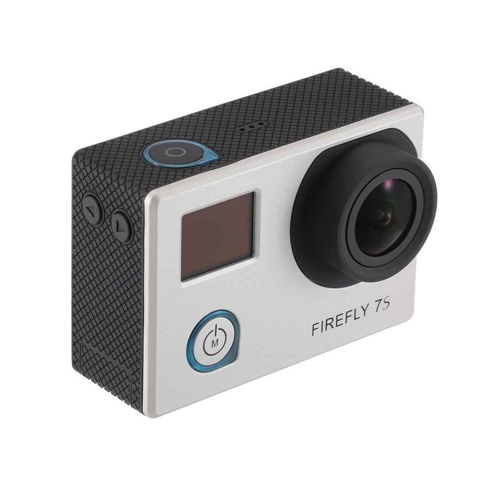 Goolsky Hawkeye Firefly 7S Distortionless 12MP 4K Sport WiFi FPV Camera for QAV250 DJI F450 F550 Zenmuse H3-3D Aerial Photography