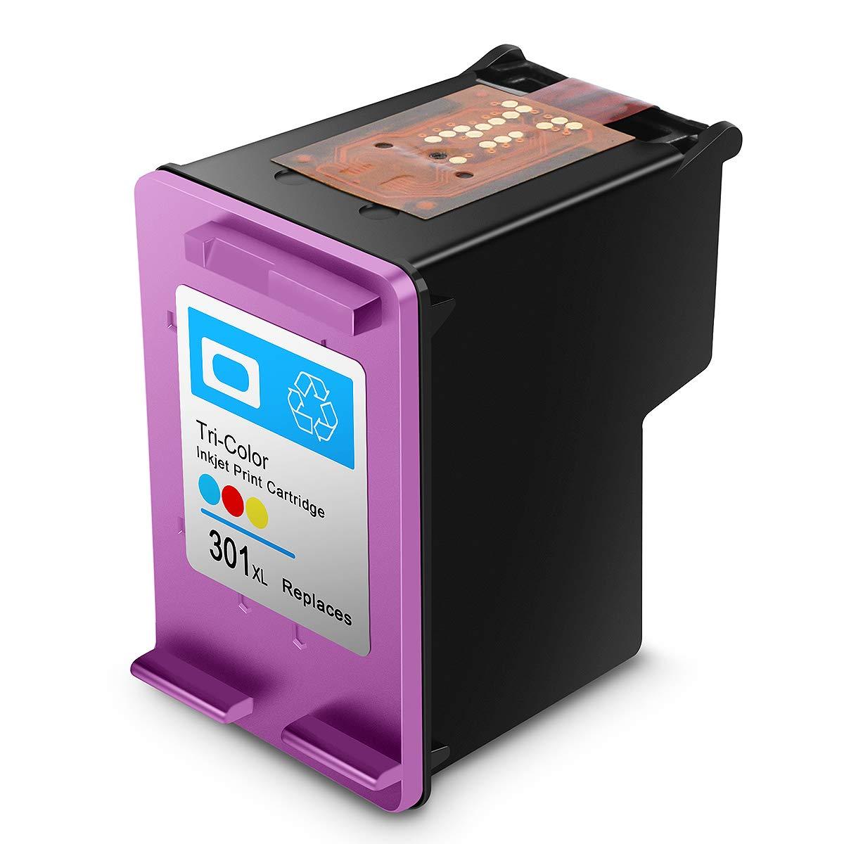 Cartucho de Tinta regenerado HP 301 HP301 XL Cartuchos de Tinta de Alto Rendimiento (1 Tricolor)