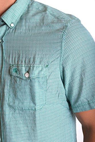 Burberry Herren MCBI056074O Grün Baumwolle Hemd