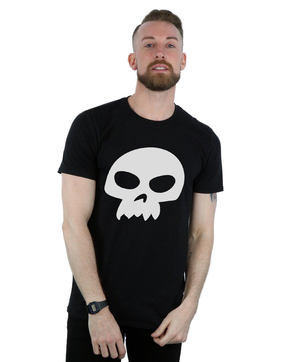 Disney Homme Toy Story Sids Skull T-Shirt Large Noir