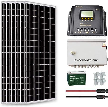 Goosun 1000 Watt Solar System Solar Panel Kit Off Grid