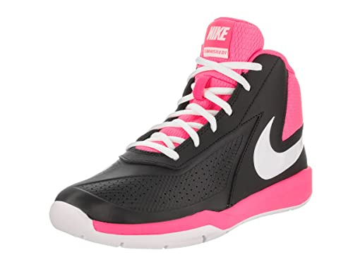 1688297b573 Nike Boys  Team Hustle D7 Gs Basketball Shoes Black  Amazon.co.uk ...