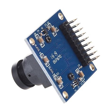 CMOS VGA OV7670 módulo de la cámara Lente SCCB Compatible W / interfaz I2C.: Amazon.es: Electrónica