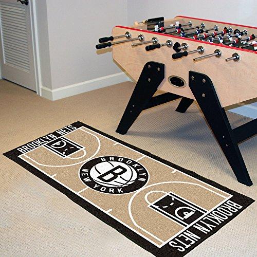(Team Fan Gear Fanmats New Jersey Nets NBA Court Runner 24x44 NBA-9497)