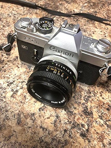 (Canon FT B FTb QL 35mm Camera with 50mm 1.8 lens)
