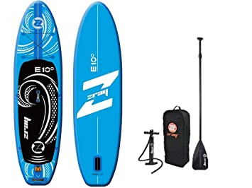 z-Ray 37448 E10 Todo Sup Stand Up Paddle Board Paquete, Azul, 9
