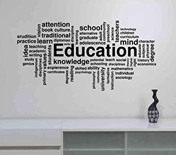 Winston Porter Dominic Don T Let Schooling Interfere With Your Education Wall Decal Wayfair