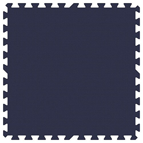 NAVY BLUE 24 in. x 24 in. Comfortable Mat (100 sq.ft. / Case) by Groovy Mats