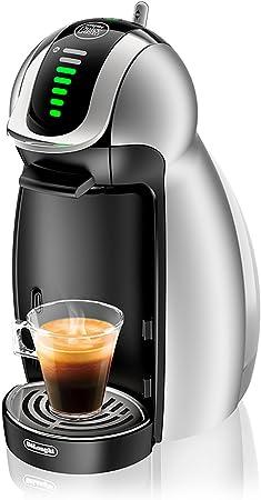 Delonghi Dolce Gusto Genio - Máquina de café (15 Bar), color plateado: Amazon.es: Hogar