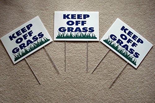 (3 Keep Off Grass 8