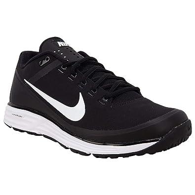 11b146ca78 Nike Men's Lunar Clipper Turf '17 Baseball Shoes Black/White-Black, Size